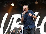 UB40 singer Duncan Campbell, 62, is hospitalised after suffering a stroke