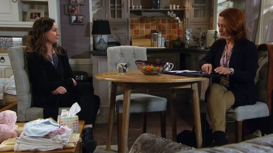 Emmerdale spoilers: Chas Dingle is devastated following a visit from social services tonight