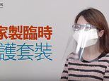 How to make your own coronavirus mask: Hong Kong officials release DIY video