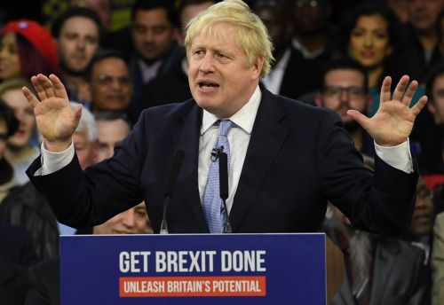 Boris Johnson makes plea to 'save country' in final campaign rally