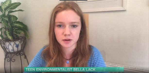 'British Greta Thunberg' divides opinions as she says coronavirus is a 'byproduct of mistreating planet'