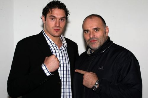 Tyson Fury's dad John claims eye-gouging incident was an accident