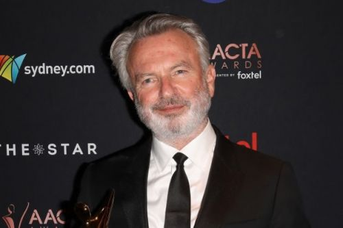 """Sam Neill reunites with Jurassic World """"friend"""" that's close to his heart and head"""