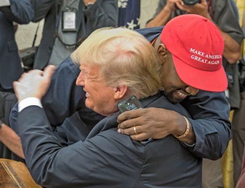 Kanye West distances himself from President Trump as he opens up on presidential bid