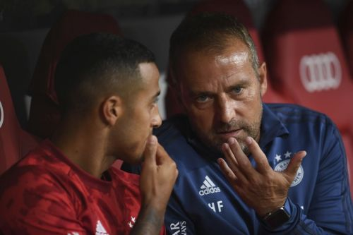Bayern Munich boss Hansi Flick sends message to Liverpool transfer target Thiago