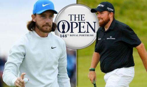 The Open tee times: Early starts for Shane Lowry and Tommy Fleetwood amid weather fears