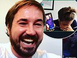 Line Of Duty stars reunite for a Zoom video chat but Adrian Dunbar joins via Vicky McClure's phone