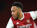 Pierre-Emerick Aubameyang misses Arsenal's FA Cup tie at Southampton due to 'personal reasons'