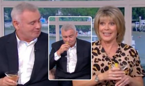 Ruth Langsford snaps at Eamonn Holmes after bizarre This Morning segment 'Are you drunk?'