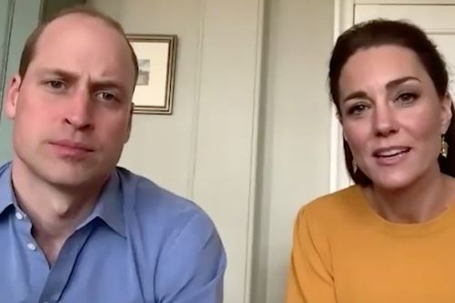 William and Kate make first royal engagement via video call amid lockdown