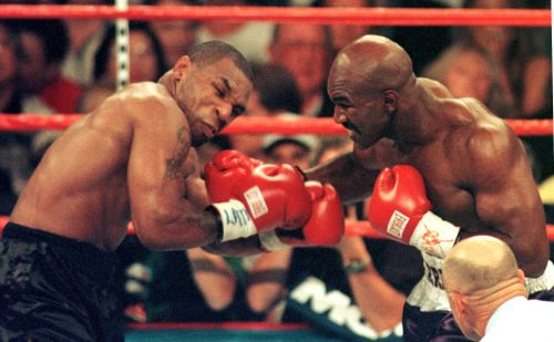 Evander Holyfield reveals what happened when he first sparred with a 17-year-old Mike Tyson