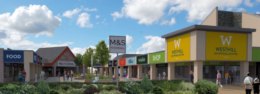 Westhill Shopping Centre plans approved - despite concerns about lack of shelter