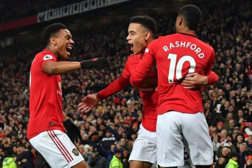 Ole Gunnar Solskjaer believes Man Utd front line can rival any in club history
