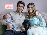 Ashley James and partner Tom Andrews reveal their baby son's name