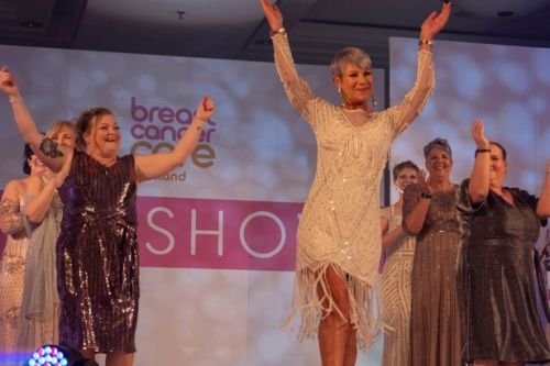 Airdrie breast cancer survivor is catwalk queen at charity fashion show
