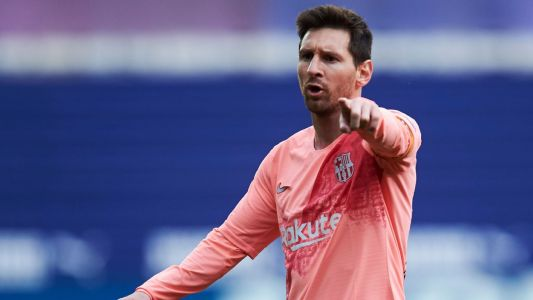 Messi wins European Golden Shoe for sixth time