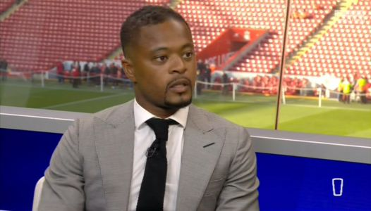 Patrice Evra praises 'top-class' Liverpool after finally getting apology over Luis Suarez racism support