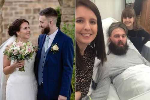 Bride, 30, shares agonising, moving last days with husband who couldn't be saved