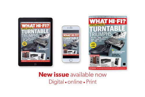 May 2020 new issue of What Hi-Fi? on sale now: the definitive vinyl special