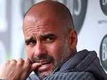 Pep Guardiola denies having a release clause in Manchester City contract but club remain silent