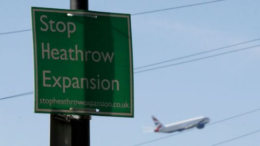 19 Climate Change Activists Arrested for Drone Protest Against Heathrow Airport Expansion
