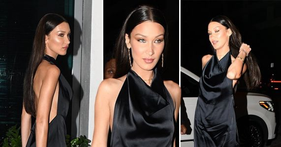 Bella Hadid swaps jet-skiing with Kendall Jenner for swanky Lenny Kravitz party as she takes Miami by storm