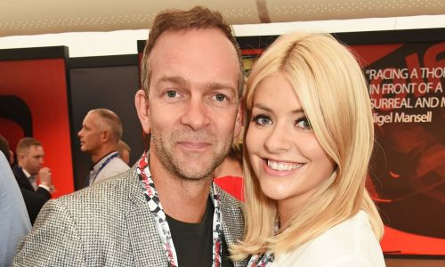 Holly Willoughby shares kiss with husband Dan Baldwin in rare gushy post