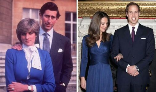 Kate Middleton ring: How Princess Diana's ring choice sparked MOCKERY within Royal Family