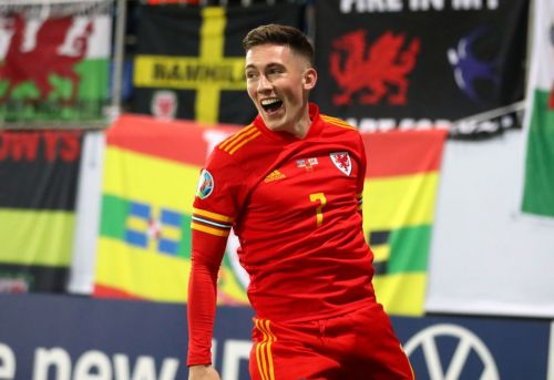 Azerbaijan 0 Wales 2: Ryan Giggs' men up to third in Group E thanks to goals from Kieffer Moore and Harry Wilson