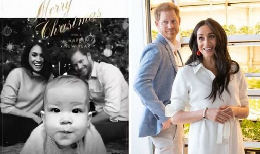 How Meghan and Prince Harry's Christmas card shows they are 'equals' in their marriage