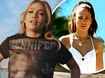 Jennifer Lopez strips on the beach to recreate Love Don't Cost a Thing video on 20th anniversary
