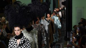 Erdem gives us The Crown vibes with his LFW show