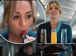 Kaley Cuoco declares she's 'a crazy drunk flight attendant, not a killer' in The Flight Attendant
