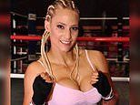 Ebanie Bridges says her 'eyes are bigger than her boobs' after boxing match facial injury