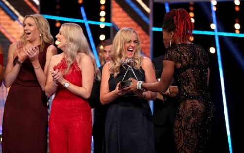 England netball seal double success at SPOTY awards winning team of the year and best sporting moment