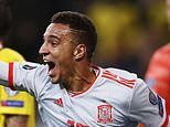 Sweden 1-1 Spain: Moreno's last-gasp equaliser books spot at Euro 2020 finals for visitors