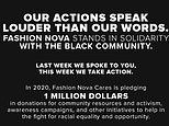Fashion Nova announces $1 million donation 'to help in fight for racial equality and opportunity'