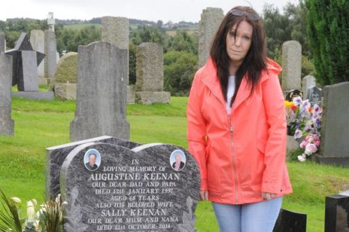 Cambuslang woman tells of horror after sick thieves steal from brother's gravesite