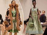 Jeremy Scott uses puppets to model Moschino's latest collection at Milan Fashion Week