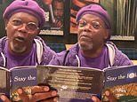 Samuel L. Jackson reads from book called Stay The F**k at Home to encourage social distancing