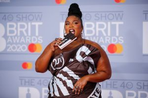 Lizzo just wore an actual chocolate bar to the BRIT Awards