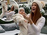 Millie Mackintosh shares sweet video of baby daughter Sienna's first-ever snow day