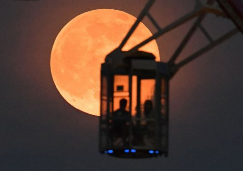 The 'Strawberry moon' will shine over the UK this week
