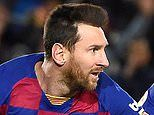Barcelona 1-0 Granada: Lionel Messi nets winner after visitors are reduced to 10 men