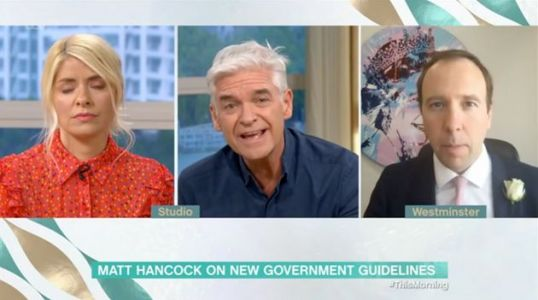 Phillip Schofield Clashes With Matt Hancock On This Morning Over Latest Lockdown Rules
