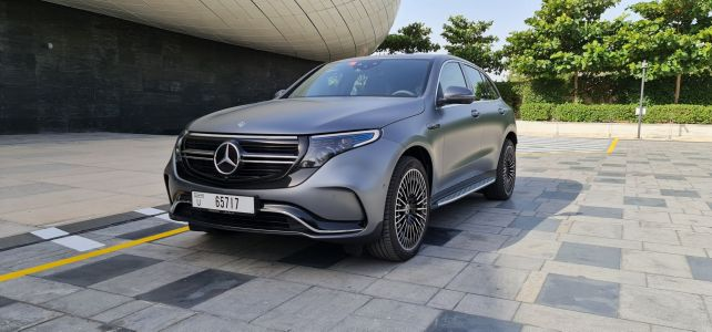 I Got To Test Drive The All-Electric Mercedes-Benz SUV And Here's Why It's A Game-Changer