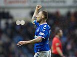 Rangers 1-0 Livingston: Scott Arfield scores fourth goal in three games as Gers grind out nervy win