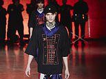 Helena Christensen and Norman Reedus' son Mingus, 20, makes LFW debut at the Tommy Hilfiger show