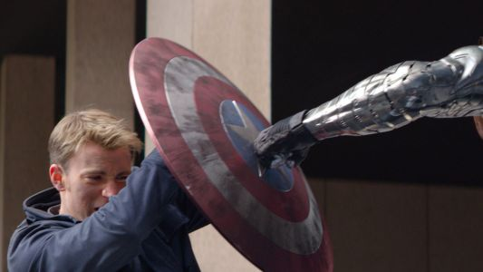 Watching Adam Savage Spruce Up a Captain America Shield Is Strangely Relaxing