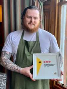 The 1887 restaurant at The Torridon has been awarded 3 AA Rosettes